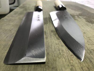 新品の和包丁刃付け
